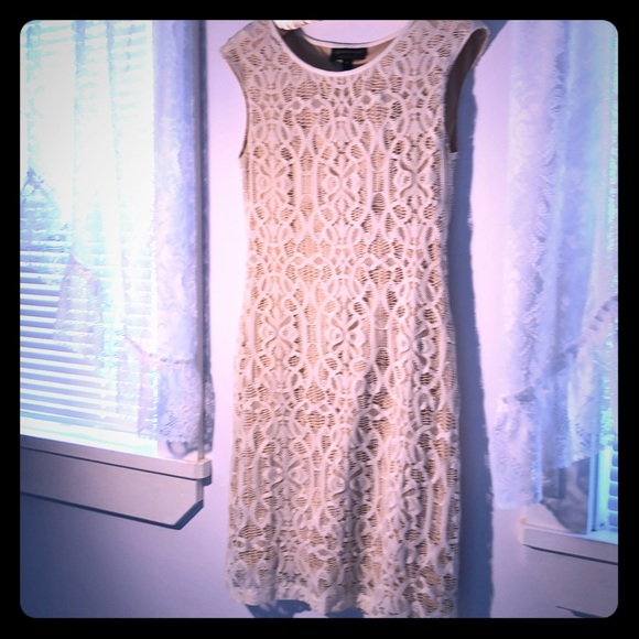 connected apparel Dresses & Skirts - White Lace Dress 6
